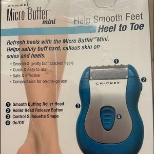 BNIB electric foot buffer 👠